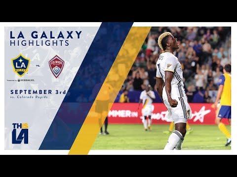 Video: HIGHLIGHTS: LA Galaxy vs. Colorado Rapids | September 2, 2017