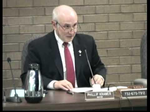 Franklin Township NJ (Somerset County) January 1, 2018 Township Council Reorganization Meeting