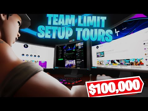 Team Limit Gaming Setup Tours! ($100,000) *Part 3*
