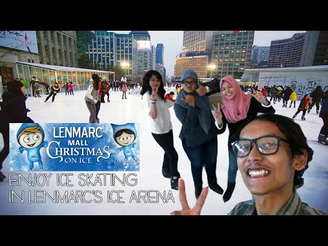 [JALAN-JALAN] Sahabat V Main Ice Skating - The Ice Zone