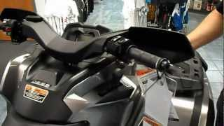 11. 2013 CAN AM OUTLANDER MAX XT WALK AROUND WITH ECKLUND