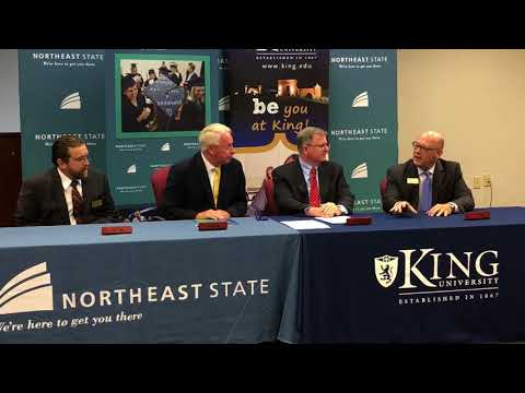 Video: Dual admissions agreement signed