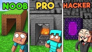 Minecraft - SECRET MAZE CHALLENGE! (NOOB vs PRO vs HACKER)