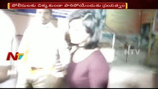 Drunken Women Hulchul In Jubilee Hills    Hyderabad