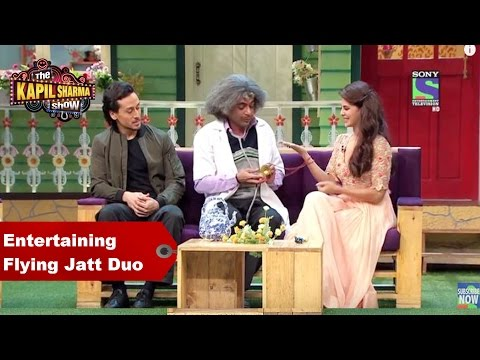 Kapil Sharma & Dr. Mashoor Entertain Flying Jatt Duo - Jacqueline Fernandez & Tiger Shroff
