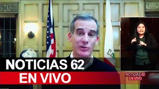 Coronavirus continúa sin control en Los Ángeles – Noticias 62 - Thumbnail