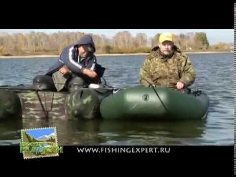 рыбалка-карась с надувной лодки