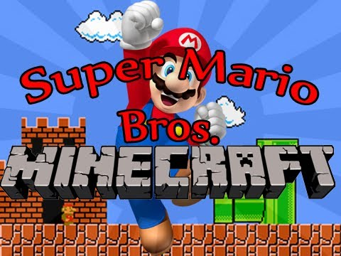 Minecraft: Super Mario Bros. (Custom Parkour Map)