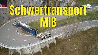 Video Die NEUE MIB BAHN ist da! 🔴 Spektakulärer Schwertransport nach Innertkichen MP3, 3GP, MP4, WEBM, AVI, FLV Januari 2019
