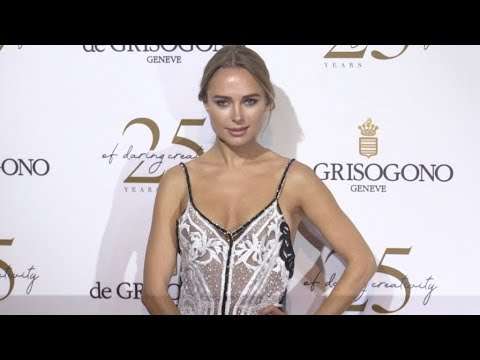 Kimberley Garner at the De Grisogono Party in Cannes видео