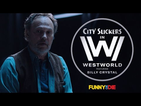 City Slickers in Westworld With Billy Crystal and Daniel