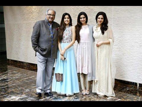 Sridevi-Boney's Differences Over Daughter Jhanvi's