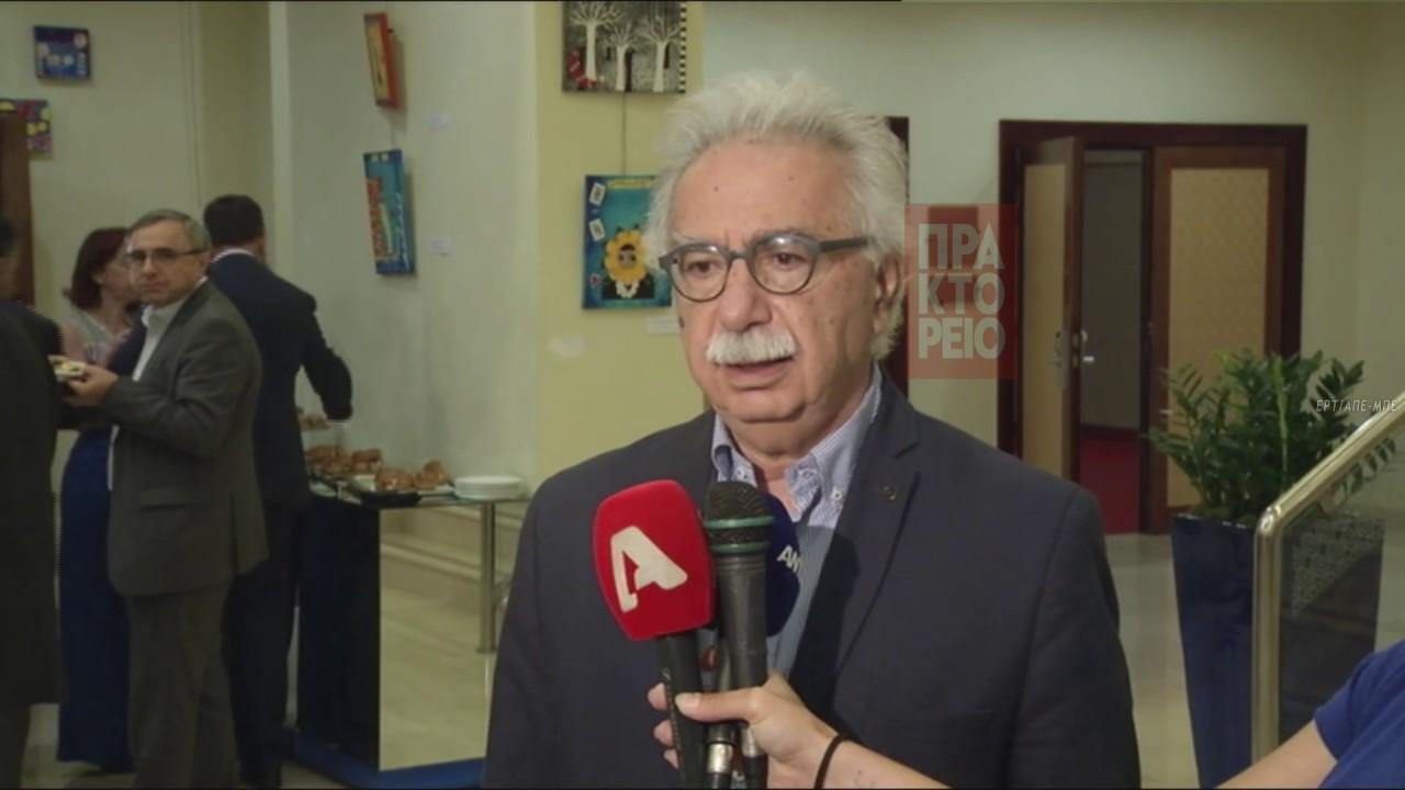 Δήλωση του Υπουργού Παιδείας Κ. Γαβρόγλου μετά τη Σύνοδο Πρυτάνεων