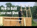 How to Build a Shed by Yourself