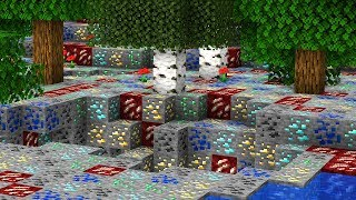 Minecraft UHC But The Entire World Is Ores by CaptainSparklez