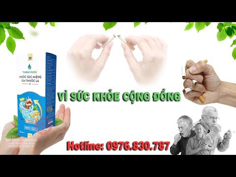 Thơ - Đoạn tuyệt thuốc lá | Thanh Nghị