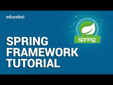 Spring Framework Tutorial | Spring Tutorial For Beginners With Examples | Java Framework | Edureka