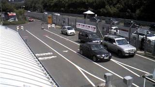 Nurburgring Gate Webcam Timelapse July 9, 2013