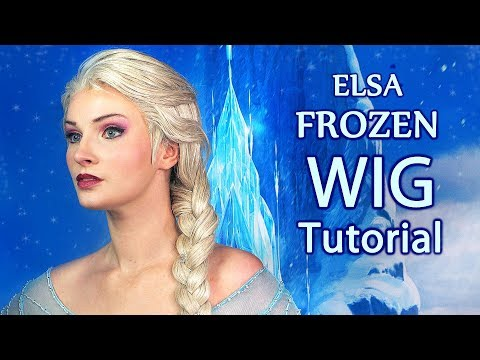 Elsa (Frozen) Wig - Cosplay Tutorial