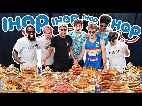 2HYPE Eats IHOP Entire Menu - 100,000 Calories