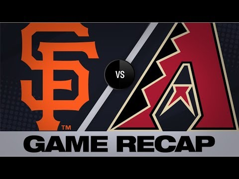 Video: Belt, Pillar lead Giants to 11-6 victory | Giants-D-backs Game Highlights 8/17/19