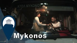 Mykonos | The trusty night bus