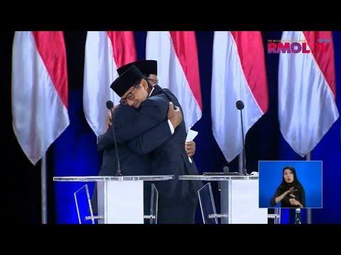 Debat Pilpres: Pernyataan Penutup Prabowo-Sandiaga Uno
