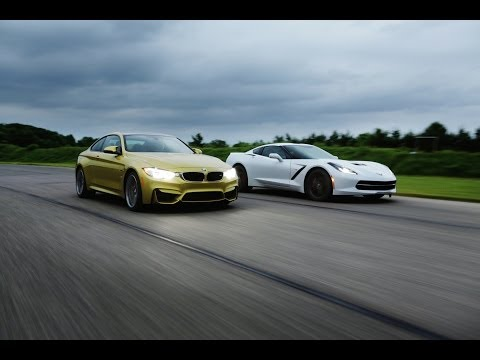2015 bmw m4 vs 2014 chevrolet corvette