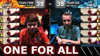 Video Team Ice vs Team Fire - All For One | LoL All-Star Event 2016 Day 2 | 5 Lee Sin vs 5 Lee Sin MP3, 3GP, MP4, WEBM, AVI, FLV Juni 2018