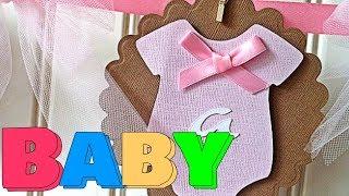 Lembrancinha para chá de bebê em EVA