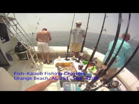 Alabama Off Shore Fishing Charters with Fish-Kabob Bowfishing