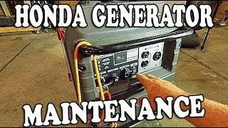3. Honda Generator Maintenance - Honda eu3000is Generator