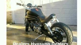 1. 2008 Hyosung Avitar GV650  Info Transmission motorbike Engine Specs Specification Dealers
