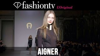 Etienne Aigner Fall/Winter 2014-15 | Milan Fashion Week MFW | FashionTV