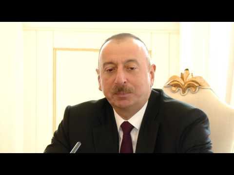 Președintele Republicii Moldova, Igor Dodon a avut o întrevedere cu Preşedintele Republicii Azerbaidjan, Ilham Aliyev