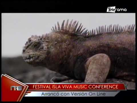 Festival Isla Viva Music Conference arrancó con versión On Line
