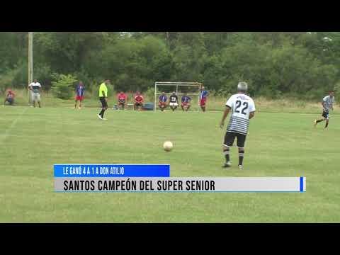 Santos campeón del Super Seniors.