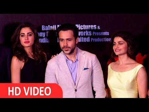 Emraan Hashmi, Prachi Desai, Nargis Fakhri At Tariler Launch Azhaar - Uncut