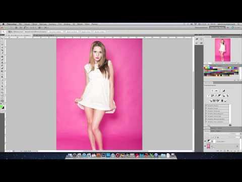 Przykładowa obróbka zdjęcia typu fashion - poradnik wideo