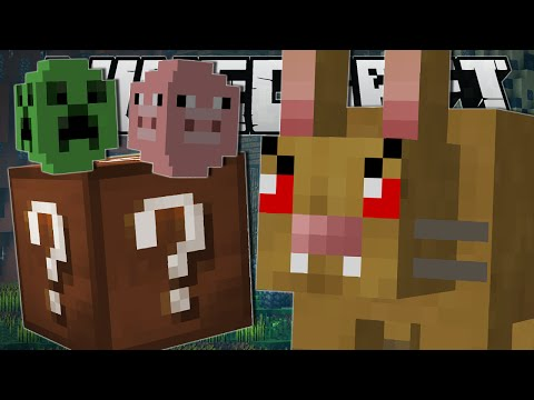 Minecraft | EVIL RABBIT CHALLENGE!! | Custom Mod Minigame