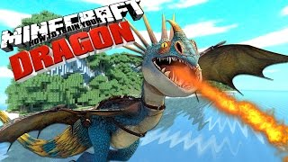 HOW TO TRAIN YOUR DRAGON [2] - Minecraft Custom Mod Adventure (Roleplay #2)