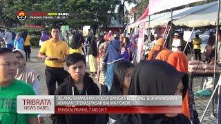 JELANG RAMADHAN POLDA BANGKA BELITUNG DAN BHAYANGKARI GELAR OPERASI PASAR #TRIBRATA NEWS