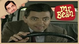 Mr. Bean - Ramming His Car out of the Car Park
