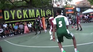 August 7, 2015 Dyckman Basketball Tournament(25th Anniversary):Big Strick Classic Day 1