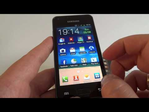 Samsung Galaxy S Advance - hands on
