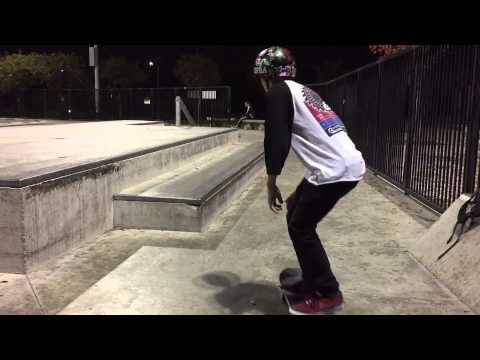 Fresno Skatepark Montage 2014