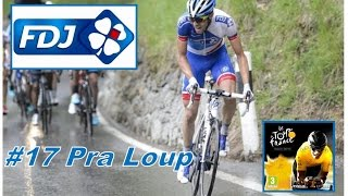 Pra Loup France  city photo : Tour de France 2015 - Thibaut Pinot - FDJ - Etape 17 : Pra Loup