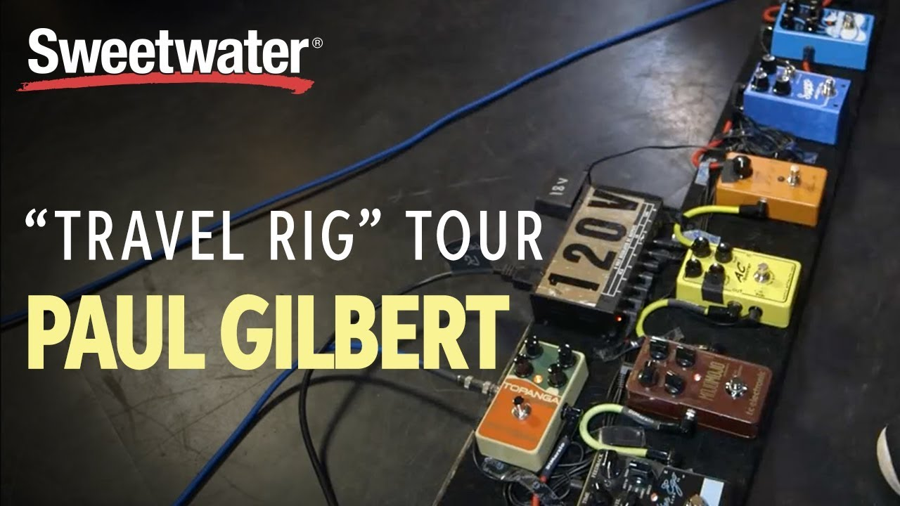 "Paul Gilbert's Guitar ""Fly Rig"" Tour"