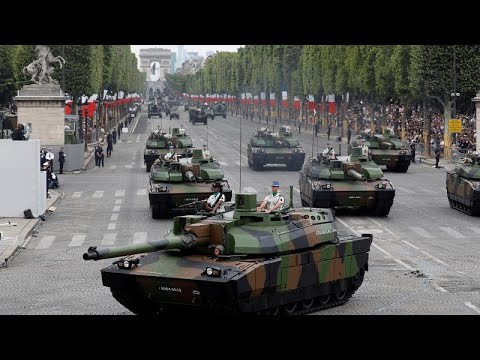 Frankreich: »Gelbwesten«-Proteste am Französischen Nationalfeiertag