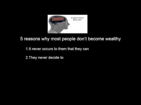 Ray Cranston 5 Reasons Why Most Don't Become Wealthy today
